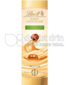 Produktabbildung: Lindt Weisse Chocolade Haselnuss- Nougat 100 g