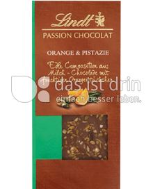 Produktabbildung: Lindt Passion Chocolat Orange & Pistazie 97 g