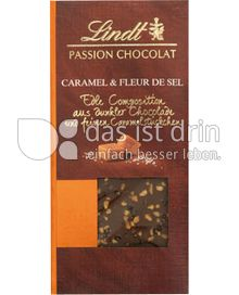 Produktabbildung: Lindt Passion Chocolat Caramel & Meersalz 97 g