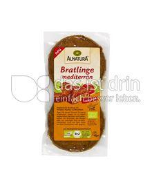 Produktabbildung: Alnatura Bratlinge mediterran 200 g