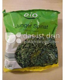 Produktabbildung: Aldi bio Blattspinat 750 g