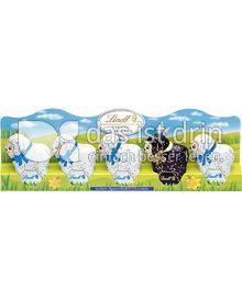 Produktabbildung: Lindt Choco-Mini-Lämmchen mit schwarzem Lamm 50 g