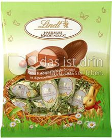 Produktabbildung: Lindt Schichtnougat Eier Haselnuss 90 g