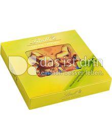 Produktabbildung: Lindt Frohe Ostern Mix mit Goldhasen-Karte 90 g
