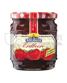 Produktabbildung: Mühlhäuser Erdbeer Konfitüre Extra 450 g
