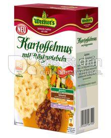 Produktabbildung: Werner's Kartoffelmus mit Röstzwiebeln 6 St.