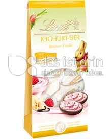 Produktabbildung: Lindt Joghurt-Eier Himbeer-Vanille 80 g