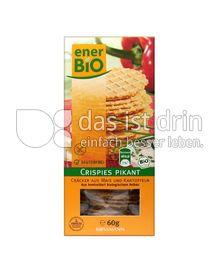 Produktabbildung: enerBio Crispies Pikant 60 g