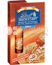Produktabbildung: Lindt Dekor Schrift Choco 30 g