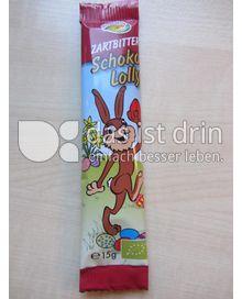 Produktabbildung: Rosengarten Zartbitter Schoko Lolly 15 g