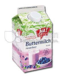 Produktabbildung: Ja! Natürlich Buttermilch Heidelbeer 500 ml