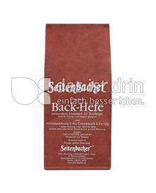 Produktabbildung: Seitenbacher Trocken Back-Hefe 120 g