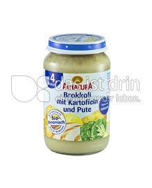 Produktabbildung: Alnatura Brokkoli mit Kartoffeln und Pute 190 g