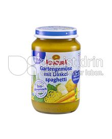 Produktabbildung: Alnatura Gartengemüse mit Dinkelspaghetti 190 g