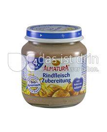 Produktabbildung: Alnatura Rindfleischzubereitung 125 g