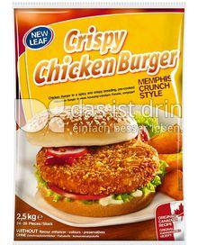 Produktabbildung: New Leaf Crispy Chicken Burger Memphis Crunch Style 2,5 kg