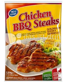 Produktabbildung: New Leaf Chicken BBQ Steaks Goldrush Smoky Barbecue 2,5 kg