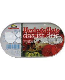 Produktabbildung: Rügen-Krone Heringsfilets in Tomaten-Sauce 200 g