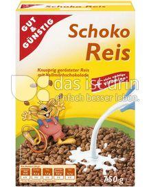 Produktabbildung: Gut & Günstig Schoko Reis 750 g