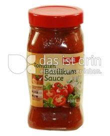 Produktabbildung: Rewe Tomaten Basilikum Sauce 400 g