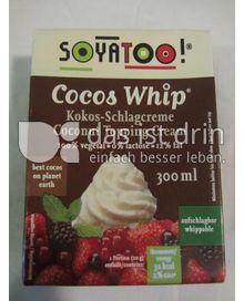 Produktabbildung: Soyatoo! Kokos-Schlagcreme 300 ml
