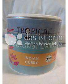 Produktabbildung: Tropicai Coconut Chips Indian Curry 75 g