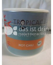 Produktabbildung: Tropicai Coconut Chips Hot Chili 75 g