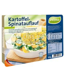 Produktabbildung: Prima Menü Kartoffel-Spinatauflauf 450 g