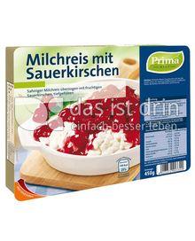 Produktabbildung: Prima Menü Milchreis mit Sauerkirschen 450 g