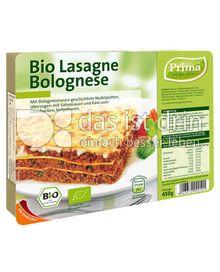 Produktabbildung: Prima Menü Bio Lasagne Bolognese 450 g
