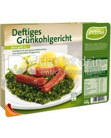 Produktabbildung: Prima Menü Deftiges Grünkohlgericht 400 g