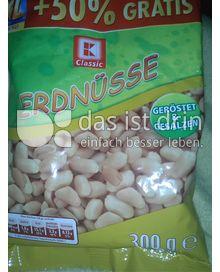 Produktabbildung: K-Classic Erdnüsse 300 g