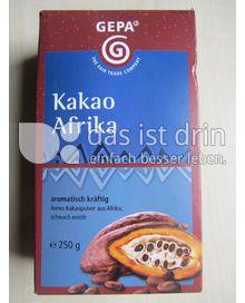 Produktabbildung: GEPA Cacao pur Afrika 250 g
