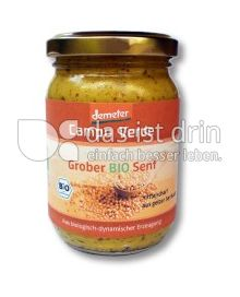 Produktabbildung: Campo Verde Grober Bio Senf 200 g