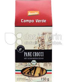 Produktabbildung: Campo Verde Bio Pane Crocci mit schwarzem Sesam 150 g