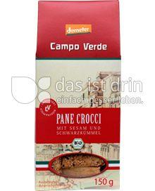 Produktabbildung: Campo Verde Bio Pane Crocci mit Sesam und Schwarzkümmel 150 g