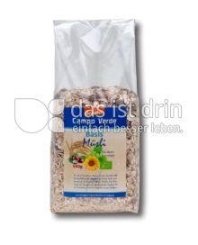 Produktabbildung: Campo Verde Bio Basis Müsli 500 g
