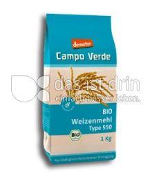 Produktabbildung: Campo Verde Bio Weizenmehl Type 550 1 kg