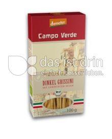 Produktabbildung: Campo Verde Bio Dinkel Grissini mit geröstetem Sesam 100 g