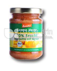 Produktabbildung: Campo Verde Bio Fruchtaufstrich Quitte mit Ingwer 70% Frucht 200 g