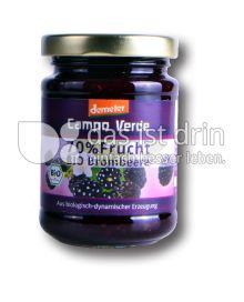 Produktabbildung: Campo Verde Bio Fruchtaufstrich Brombeere 70% Frucht 200 g