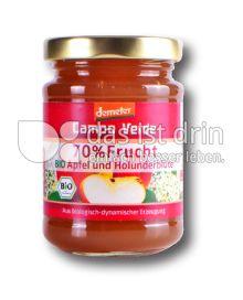 Produktabbildung: Campo Verde Bio Fruchtaufstrich Apfel-Holunderblüte 70% Frucht 200 g