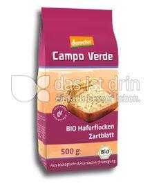 Produktabbildung: Campo Verde Bio Haferflocken Zartblatt 200 g