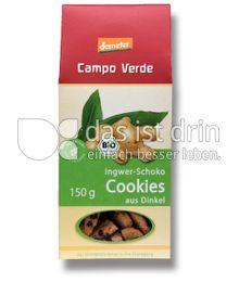 Produktabbildung: Campo Verde Ingwer Schoko Cookies aus Dinkel 150 g