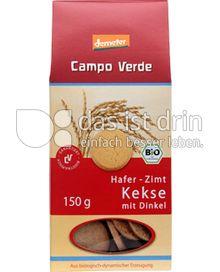 Produktabbildung: Campo Verde Bio Hafer Zimt Kekse mit Dinkel 150 g