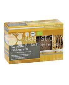 Produktabbildung: Schnitzer glutenfrei Bio Inkabrot mit Amaranth 250 g