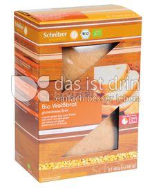 Produktabbildung: Schnitzer glutenfrei Bio Weißbrot 450 g