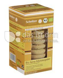 Produktabbildung: Schnitzer glutenfrei Bio feine Mürbteigtaler 150 g