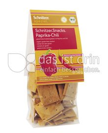 Produktabbildung: Schnitzer glutenfrei Bio Snacks Paprika-Chili 100 g