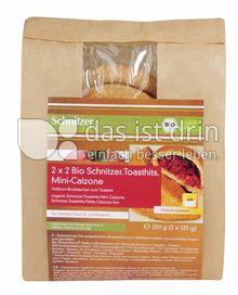 Produktabbildung: Schnitzer bio Bio Toasthits Mini-Calzone 250 g